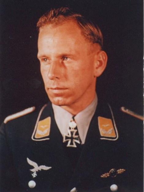Adolf Glunz as a Leutnant.