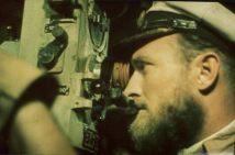 Robert Gysae inside the u-boat.