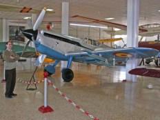 Hispano Aviación HA-1112 Buchon, the second and last Spanish version built by Hispano Aviación.