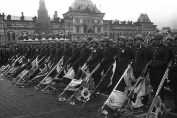 Lowering of Nazi Standards at the Soviet Victory Parade