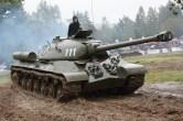 Soviet IS-3 heavy tank.