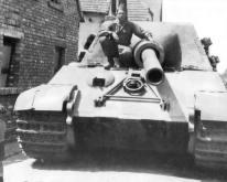 Captured Jagdtiger.