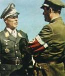 Ernst Kupfer (left) and Reichsminister Albert Speer.