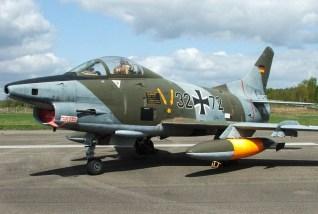 Retired Luftwaffe Fiat G.91R/3