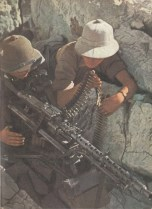 Machine gun crews of DAK.