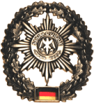Baret insignia of the Feldjäger.