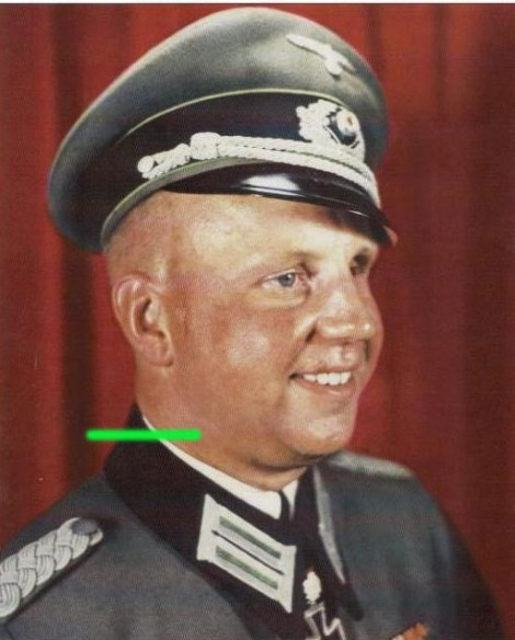 Oberstleutnant im Generalstab Joachim Domaschk