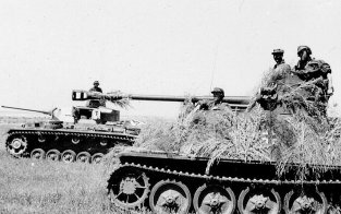 Marder II and Panzer III from 5th SS-Panzer Division Wiking.