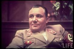 Martin Bormann at the Party reception; the Führerbau, 25 February 1939.