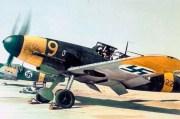 Finnish Messerschmitt Bf 109 G-2s during the Continuation War.