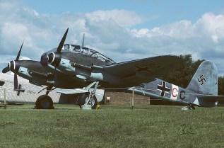 Me 410 A-1/U2, RAF Museum Cosford, 1985.
