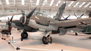 Me 410, RAF Museum Cosford, 2009.