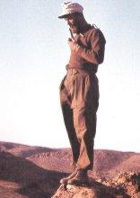Fritz Moosmüller in Africa.