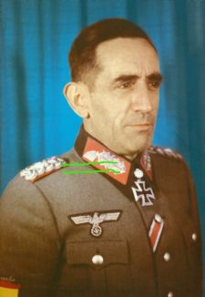 Agustín Muñoz Grandes, commander of Spanish volunteers for German Wehrmacht.