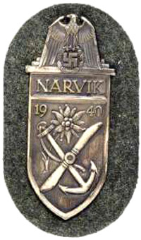 Narvik Shield in silver.