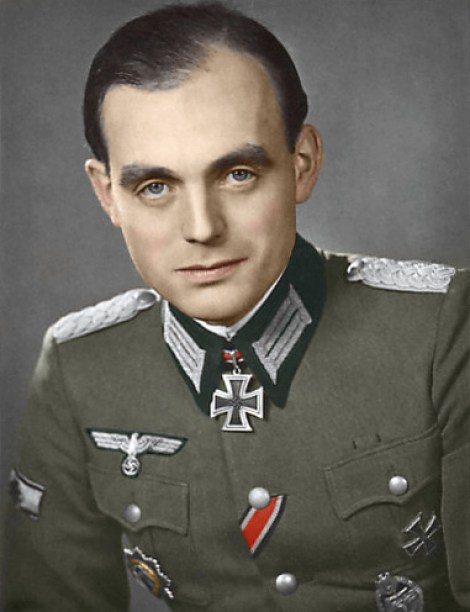 Fritz Fechner as a Major.