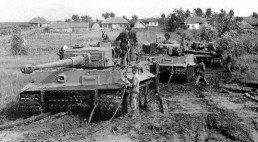 Tiger 1's getting ready to tow.