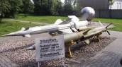 Anti-aircraft missiles.