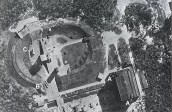 23 June 1943 RAF reconnaissance photo of V-2s at Test Stand VII.