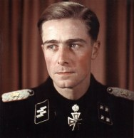 SS-Sturmbannführer Joachim Peiper after receiving Eichenlaub.
