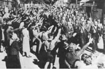Marching Freikorps unit.