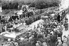 Second Polish Republic annexed the Zaolzie area of Czechoslovakia inhabited mostly by ethnic Poles, October 1938.