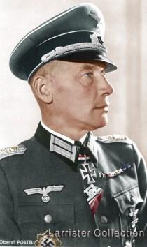 Georg-Wilhelm Postel as an Oberst.