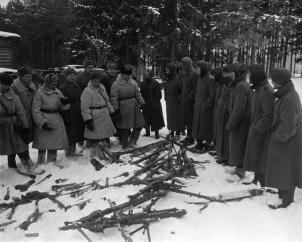 Regiment of Armaments surrender.