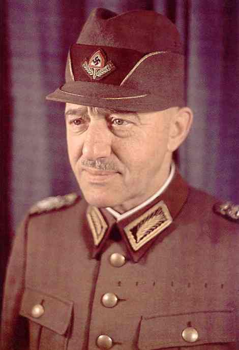 Reichsarbeitsführer Konstantin Hierl