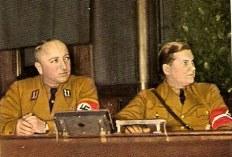 Robert Ley and Baldur von Schirach.