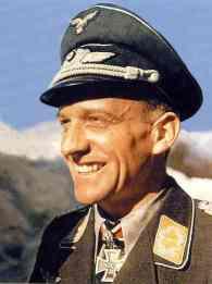 Hans-Ulrich Rudel wearing Brillanten.