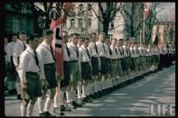 SA men at Klagenfurt during Austrian Anschluss referendum.