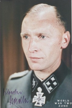 Sylvester Stadler after receiving Eichenlaub.