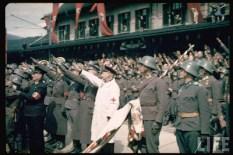 Salzburg (Innsbruck) during Hitler's Austrian Anschluss referendum.