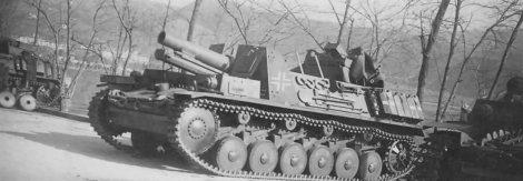 Sturmpanzer II Bison