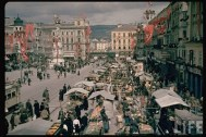 The Austrian Anschluss referendum in Linz 1938.