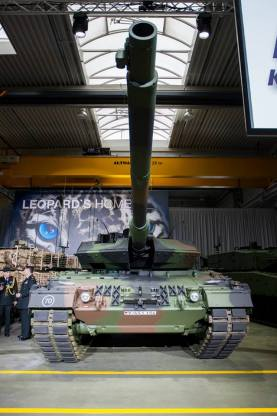The innovations are based on the experiences that have made the Canadians deployed in Afghanistan, with the Leopard 2A6, borrowed from the German armed forces.
