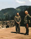 Third Reich high ranking officials at Berghof.