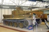Tiger 131 at the The Bovington Tank Museum - England.