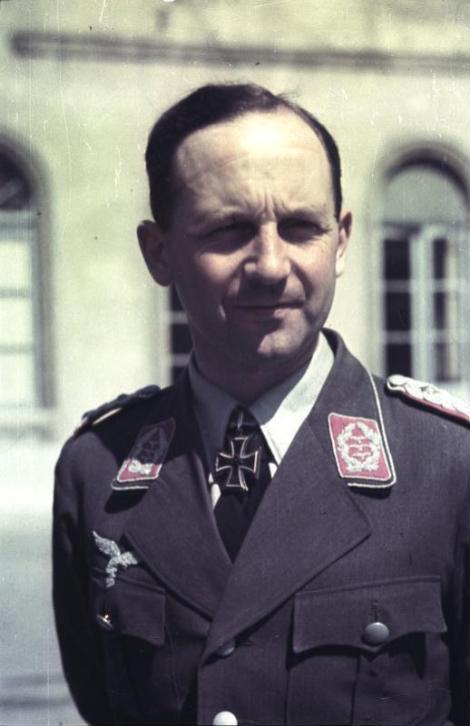 Heinz Trettner as an Oberst