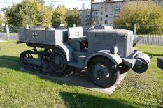 Captured P107 used by the Wehrmacht, displayed in the Museum of the Great Patriotic War, Moscow, Poklonnaya Hill Victory Park.