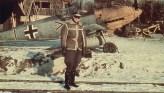 Walter Horten, Gruppenkommandeur of III.-JG 26, in front of his Bf 109 E.