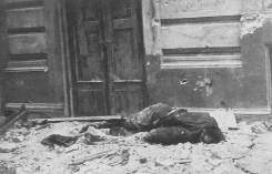 German soldier killed by insurgents during attack on Mała PASTa. 23 August 1944.