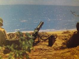Wehrmacht MG crew in Crete, Greece.