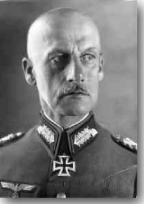 Field Marshal Ritter Wilhelm Joseph Franz von Leeb