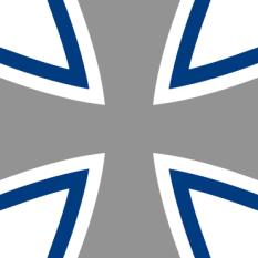 The Iron Cross is the emblem of the Bundeswehr.