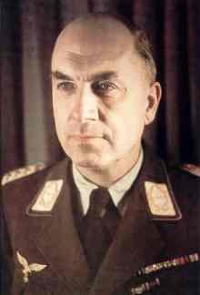 Fritz Todt wearing Luftwaffe Generalmajor honorary uniform.