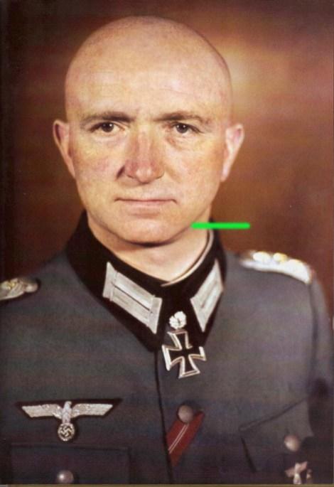 Hermann-Heinrich Behrend after receiving Eichenlaub #421.