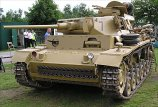 "Panzer III Ausf. J tank number 7 is in private ownership and is often seen at military vehicle events in the summer in Britain like the annual ""War and Peace"" Show in Folkstone."