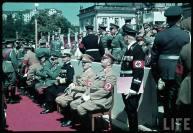 Erich Raeder on Reichs Veterans Day at Kassel, Germany, 4 June 1939.